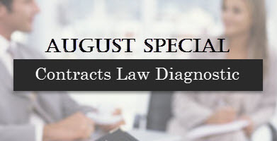 special offer for contracts law diagnostic