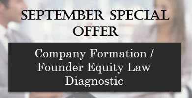 Company formation and founder equity law diagnostic