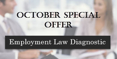 October Special Offer - Employment Law Diagnostic